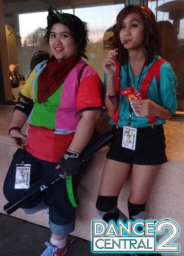 Glitch and Miss Aubrey plus Pocky by YunaSakura