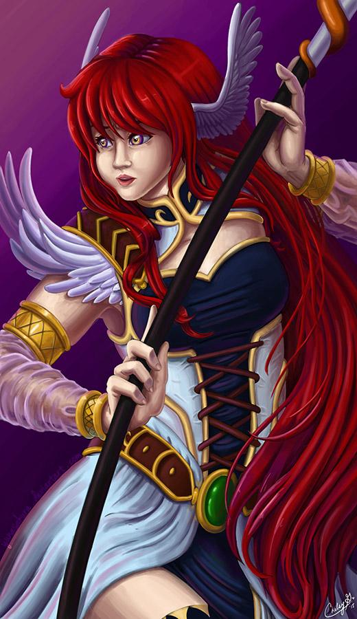 The Winged Sorceress by YunaSakura