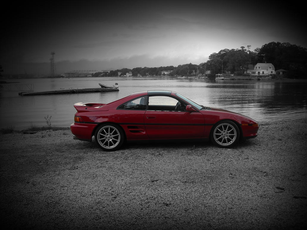 Toyota MR2 Wallpaper by ModifierMR