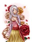 Infinite Space - red rose