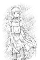 GSDD - Sketch - Sveta by claieth