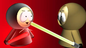Star wars South Park 3ds max
