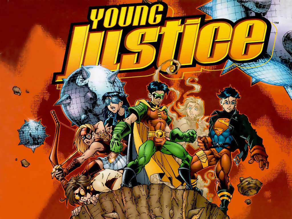 Young Justice 2 By A Maltseva