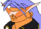 Chrono Cross Guile in Kamina Shades by GMustang94