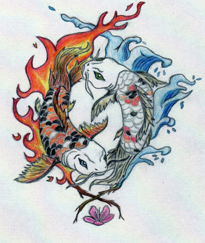 Yin and yang koi fish in color by robinevafayembry on deviantart yin and yang koi fish in color by robinevafayembry publicscrutiny Image collections