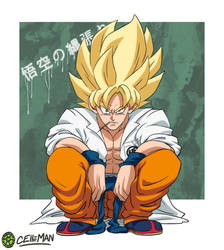 Yankee Goku by CELL-MAN