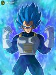 Vegeta: Super Saiyajin Blue Evolution