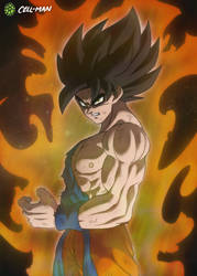 Goku: Ikari (Wrath Form) by CELL-MAN