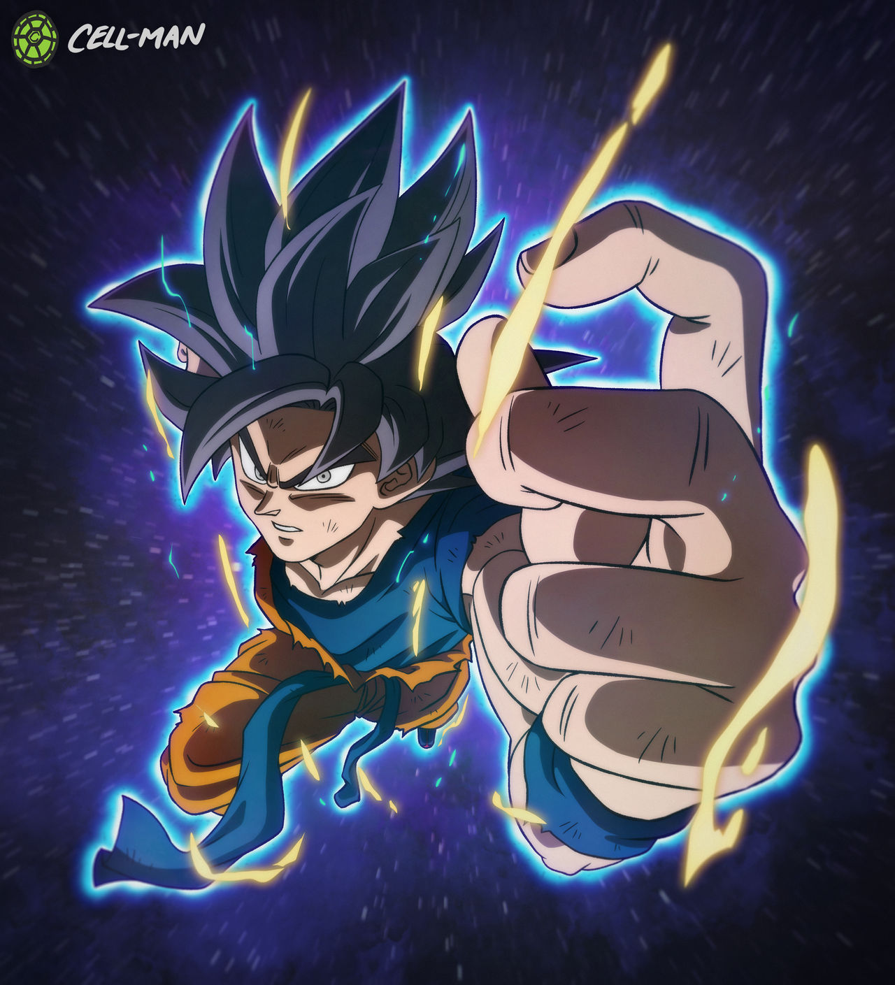 Goku: Ultra Instinct -Omen- By CELL-MAN On DeviantArt
