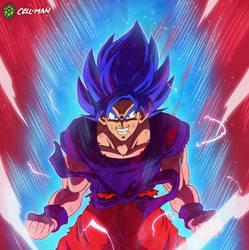 Goku: Super Saiyajin Blue Kaioken by CELL-MAN
