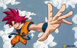Goku: Super Saiyajin God