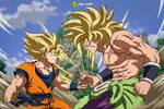Goku Vs. Broly: SSJ