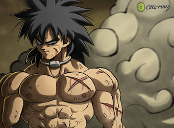 Broly: Scars by CELL-MAN