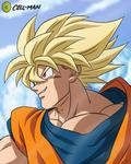 Goku: SSJ to SSJG