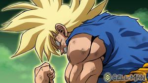 Goku Super Saiyajin Awakening [WeeklyRedraw]
