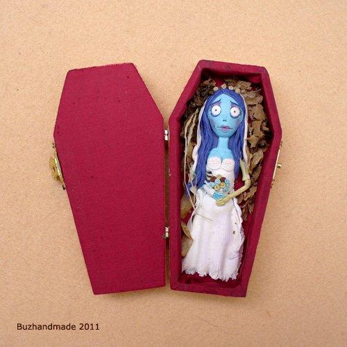 FIMO - Corpse Bride by buzhandmade
