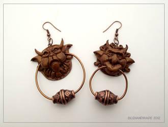 Knocker earrings - Labyrinth