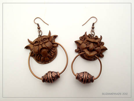 Knocker earrings - Labyrinth