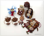 Fantasy - Labyrinth clay collection