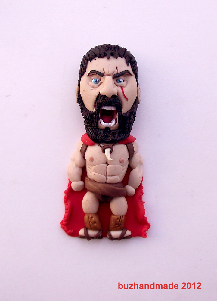 King Leonidas 300 by buzhandmade