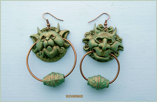 Knocker Earrings Labyrinth - Special Edition