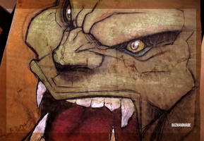 ORC Fantasy Art