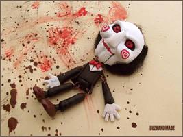 Halloween stuff - SAW - Clay puppet