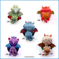 Dragon Charms Collection 3