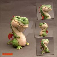 YOSHI Dragon Sculpture - Buzhandmade