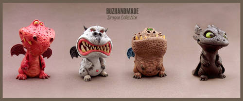 Dragons Collection 3D - BUZHANDMADE