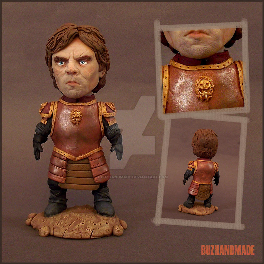 Tyrion Lannister - Clay Sculpture by buzhandmade