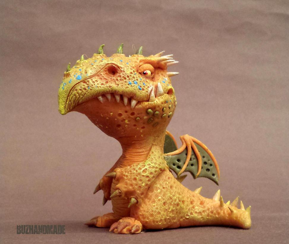 Dragon #44 - Buzhandmade by buzhandmade
