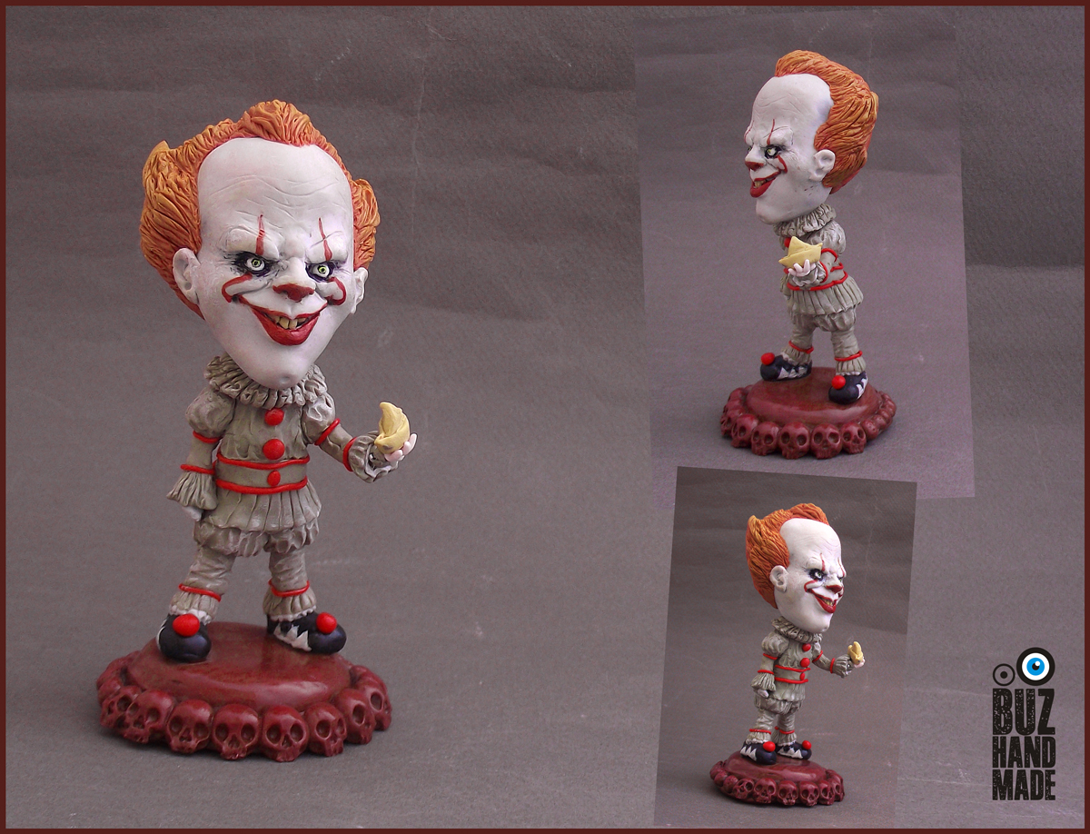 Pennywise Custom Sculpture | FANART by buzhandmade