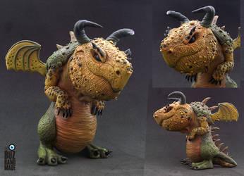 Goliath - Massive Dragon by buzhandmade
