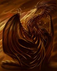 fire dragon by Cibana
