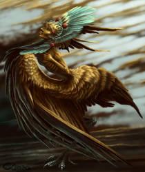 golden Harpy by Cibana