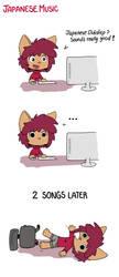 Japanese Music by EvanTheDog