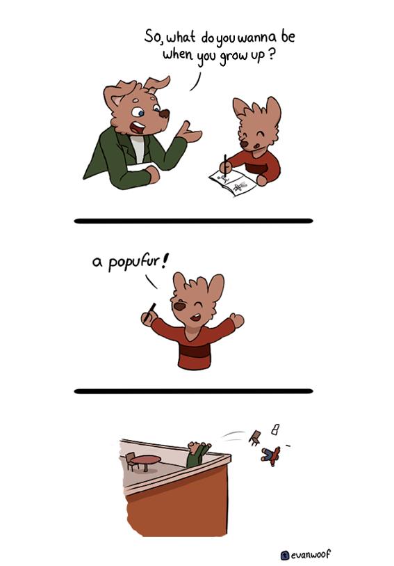 Popufur by EvanTheDog