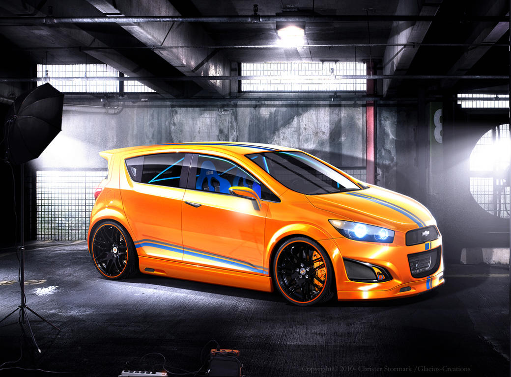Chevy RS concept Rendering by GlaciusCreations