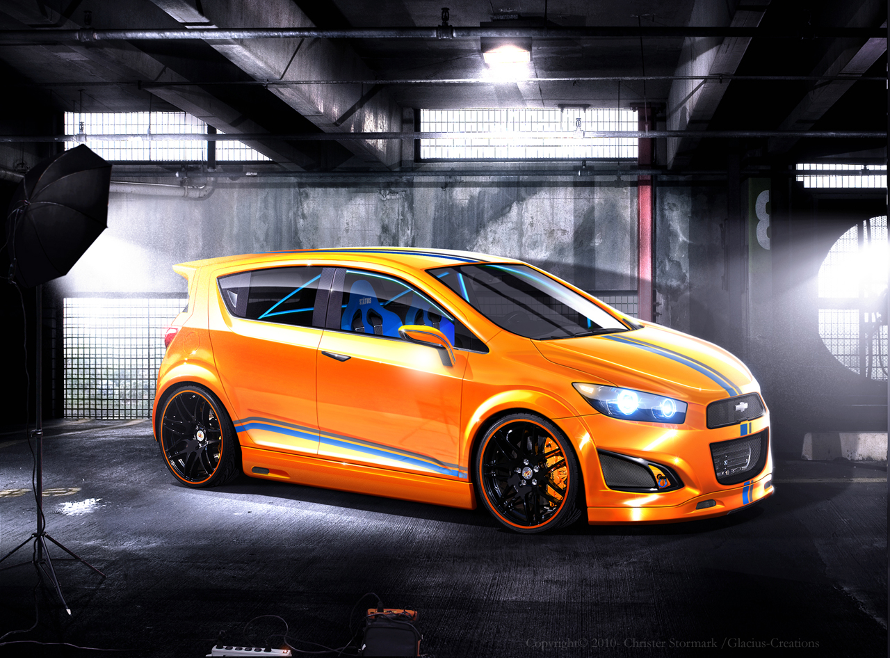 Chevy RS concept Rendering by Glacius-Projects
