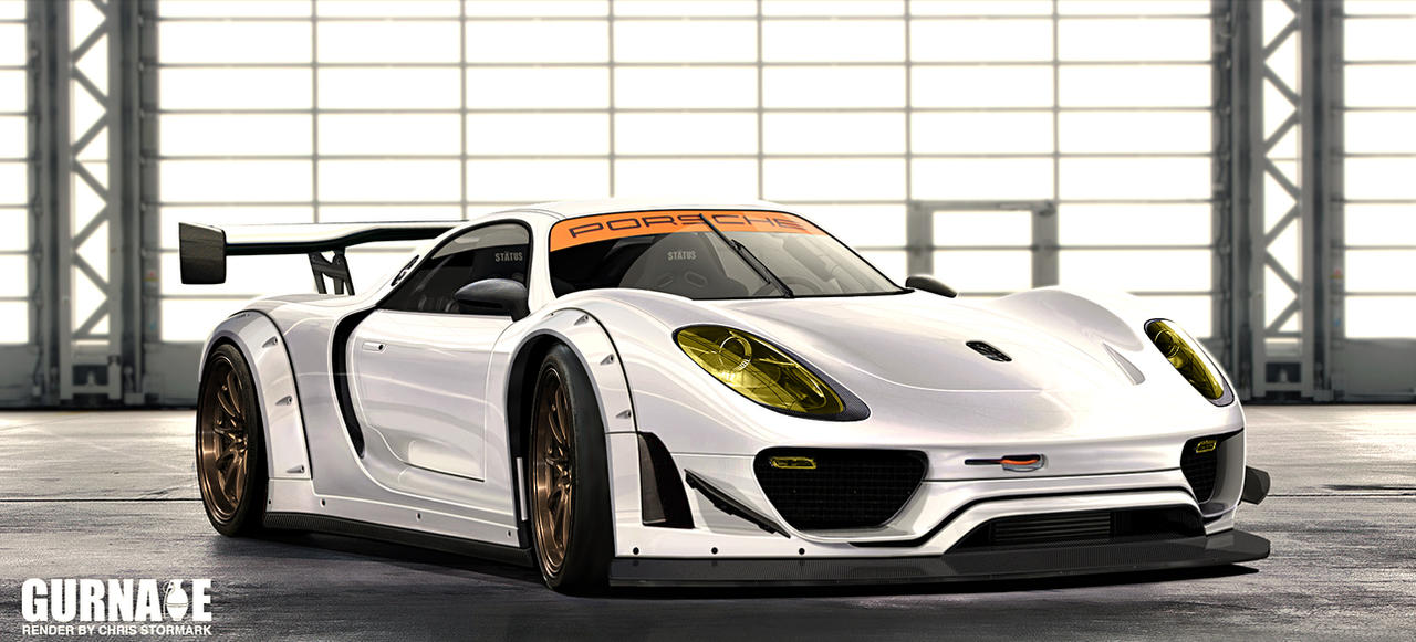 Porsche 918 Alms by GlaciusCreations on DeviantArt