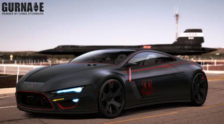 Blackbird SR71 Tribute Concept