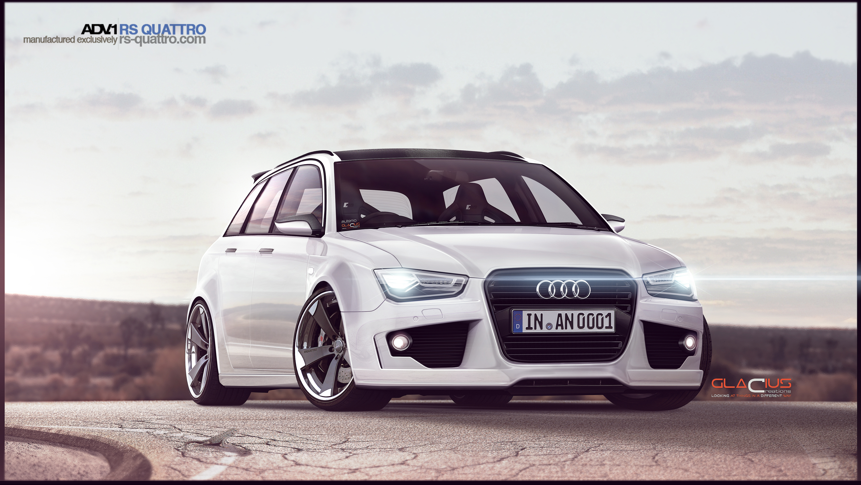 Audi RS4 Concept 2015 By Glacius by Glacius-Projects