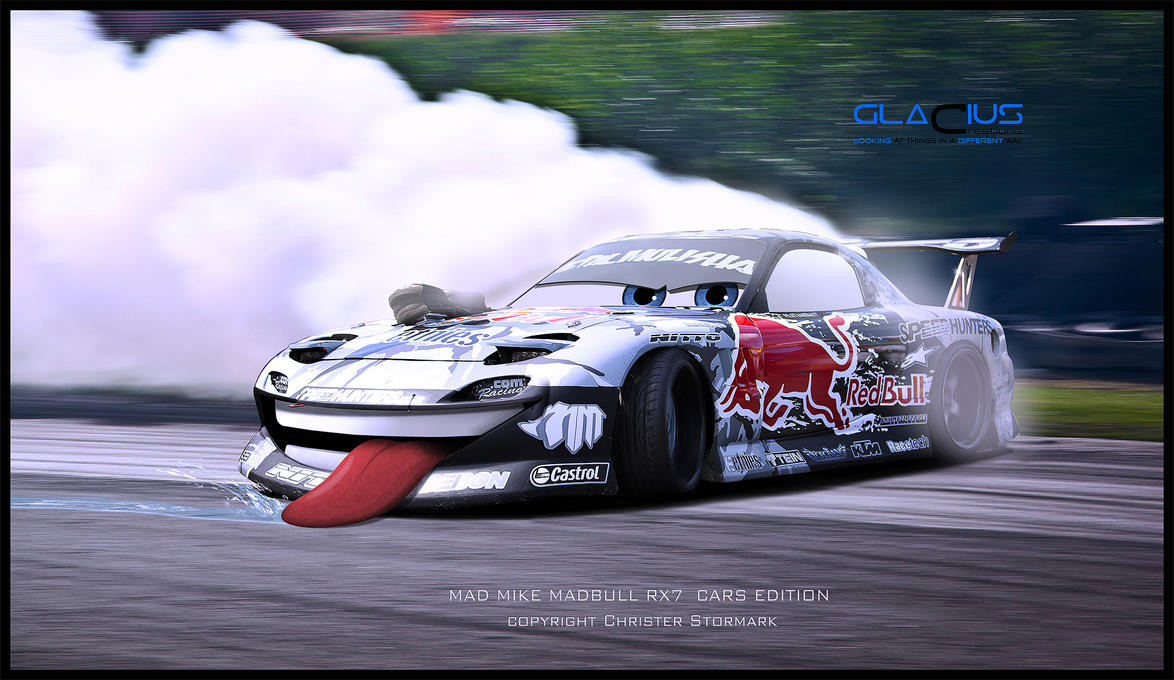 Mad Mike Madbull Cars Edition Drift By Glaciuscreations On
