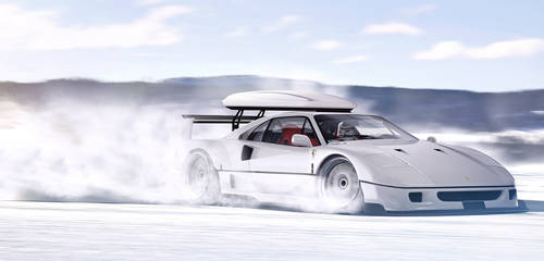 Ferrari F40 | SnowTrooper
