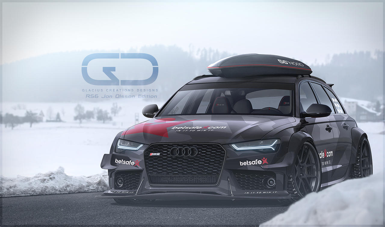 Audi Rs6 Jon Olsson Edition Glaciusrs6 Final By