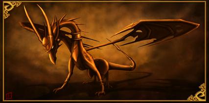 Cynder in the Shadows by xXErinDragonXx