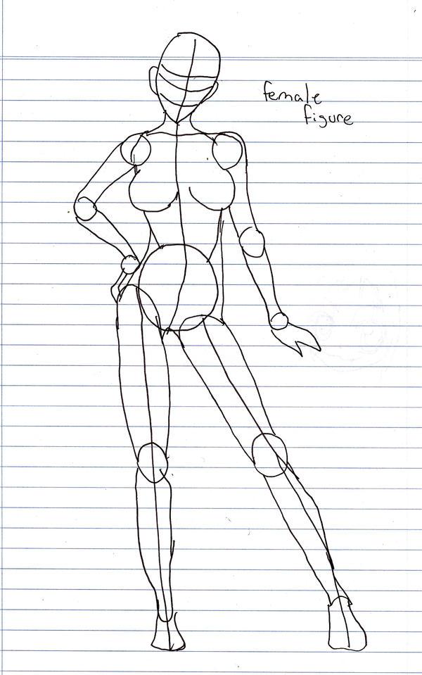 Female Body Figure by xXErinDragonXx on DeviantArt