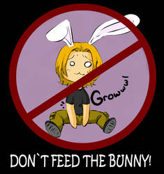 Dont feed the bunny by Sinapi