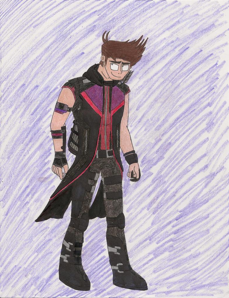 Hawkeye AOU concept art by bdehkte